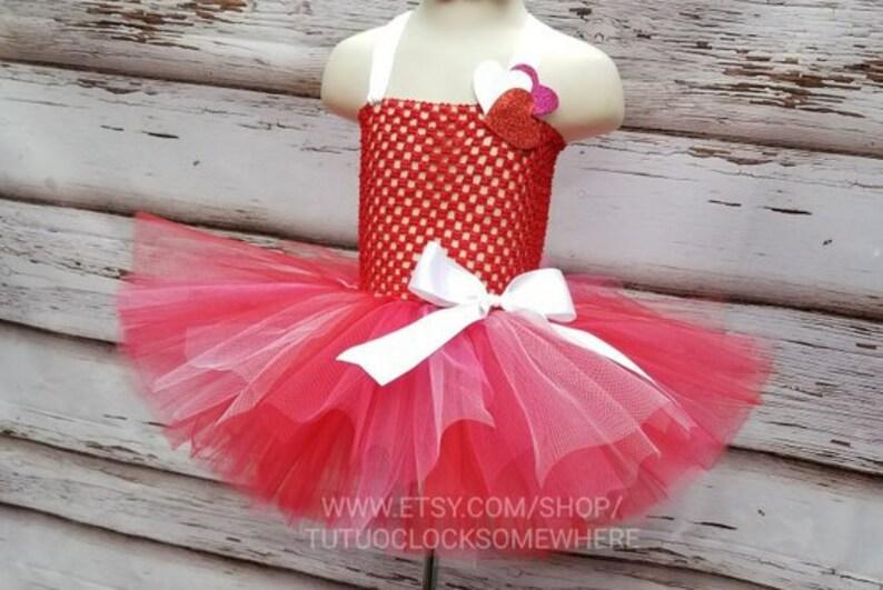 71009ac9c Hearts Tutu Dress Valentine's Day Birthday Party Cake | Etsy
