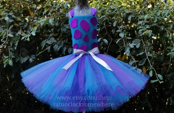 Sully Tutu Dress Monsters Inc Monster Mike Boo Birthday Party Etsy