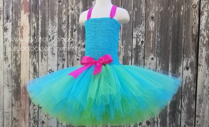 f045e57c22162 Princess Tutu Dress Poppy Tutu Dress Princess Poppy Trolls | Etsy