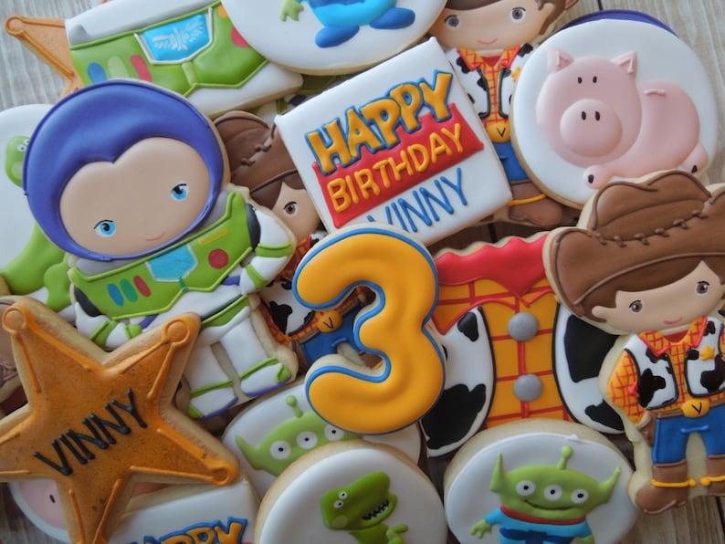 Toy Story Cookies Buzz Cookies Woody Cookies Disney Toy  4957285ccb0f