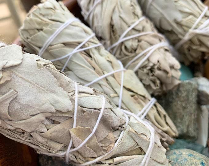 Featured listing image: White Sage Smudge Sticks