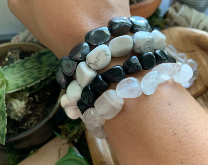 Featured listing image: Genuine Healing Stone Bracelets