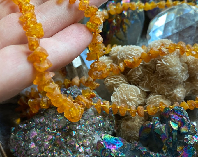 Featured listing image: Genuine *Upolished* Lithuanian Baltic Amber Necklaces