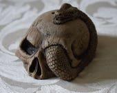 Skull & Snake Joss Stick ...