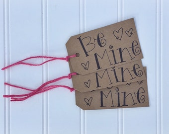 Be Mine || Valentine's Day tags