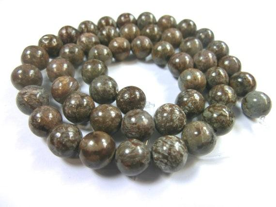1 Strang schwarze Obsidian Perlen Kugeln Größe ca.6mm zur Schmuckherstellung