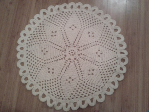 Loopy Star Rug Crochet Pattern By Peachunicorn Etsy