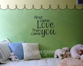 First Came Love Etsy