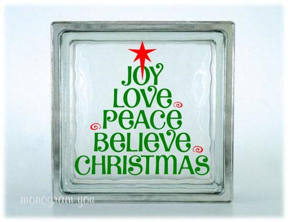 image 0 - Christmas Glass Blocks