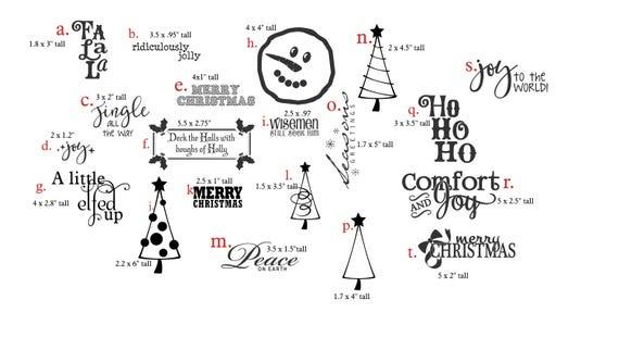 Christmas Vinyl Decals.Christmas Vinyl Decals Christmas Wall Decals Diy Christmas Decals Diy Wall Decal Diy Christmass Christmas
