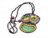 Black Skull Necklace, Sku...