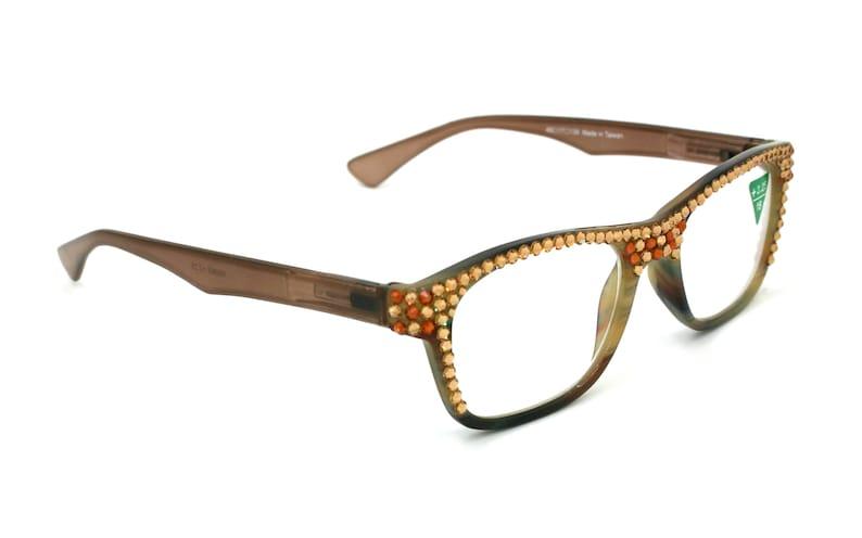 19d26d852852 Ritzy Retro Square wayfarer Women Reading Glasses W Full Top