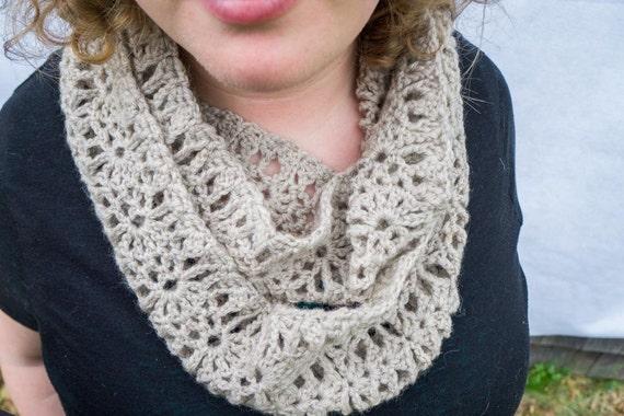 Crochet Infinity Scarf Crochet Scarf Pattern Crochet Scarf Etsy