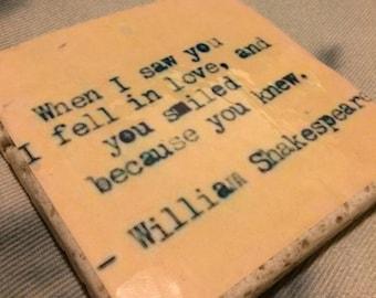 William Shakespeare ~