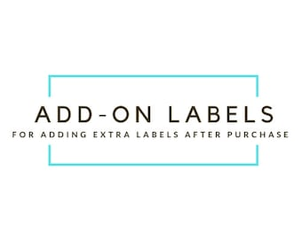 Add-On Labels After Purchase but Before Shipping
