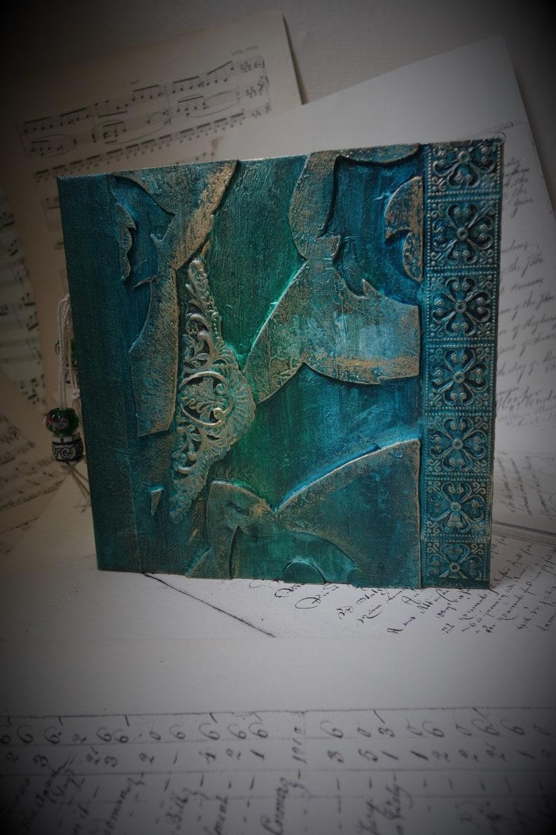 Gilded Fancy 1 Square Sketchbook