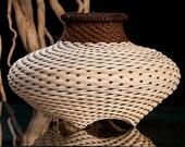Hand woven baskets,small cat head shape , Rattan, Reed, Wicker basket, Baskets