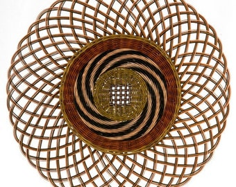Woven Wall Art Star Shaped Mandala Wall Hanging Woven Etsy