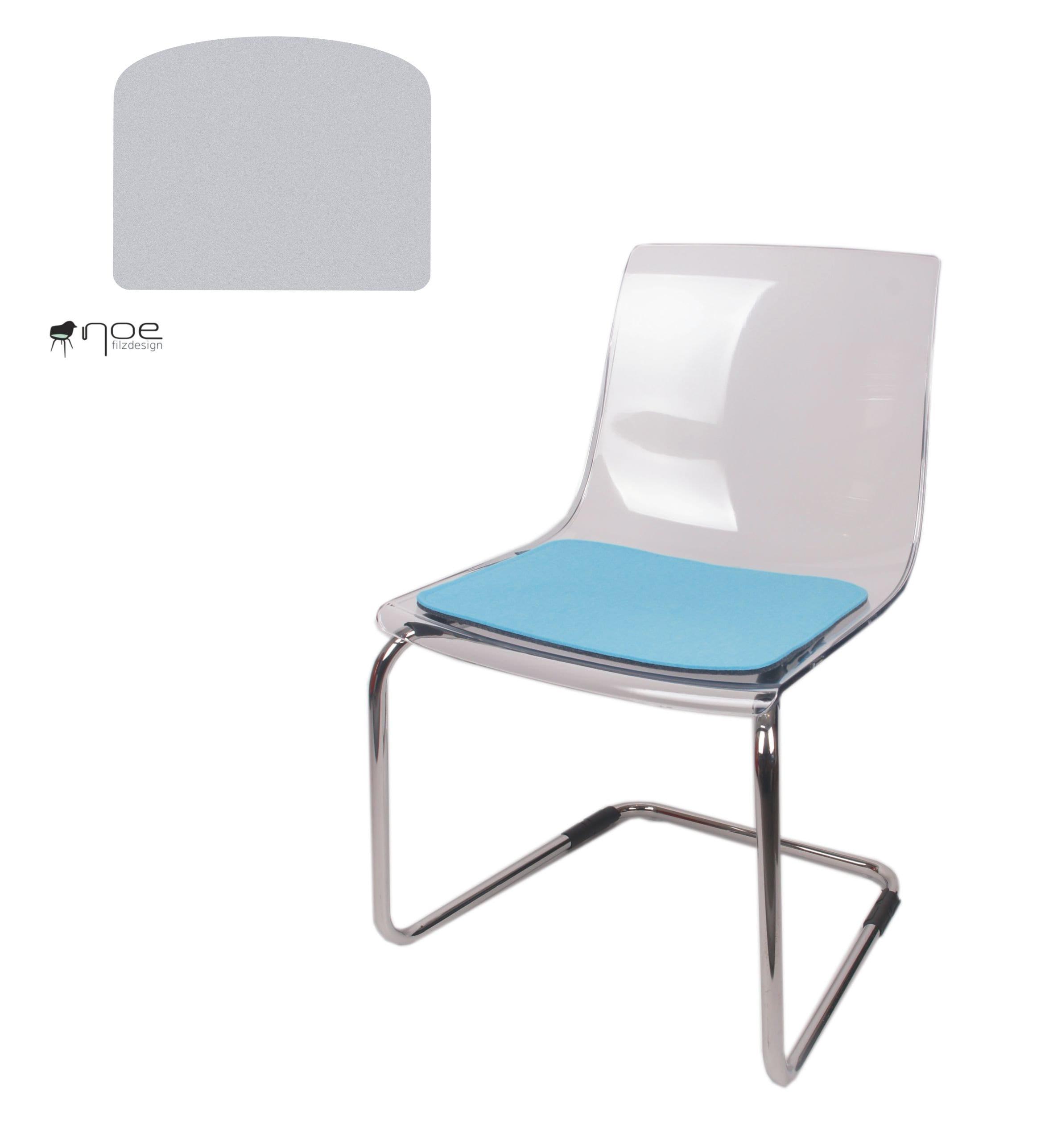 filz sitzauflage geeignet für ikea tobias stuhl | etsy