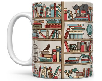 Book Lover Mug, Book Mug, Bookish Mug, Bookish Gifts, Book Lover Gift, Book Coffee Mug, Bibliophile Gifts, Bookworm Mug, Bookworm Gifts