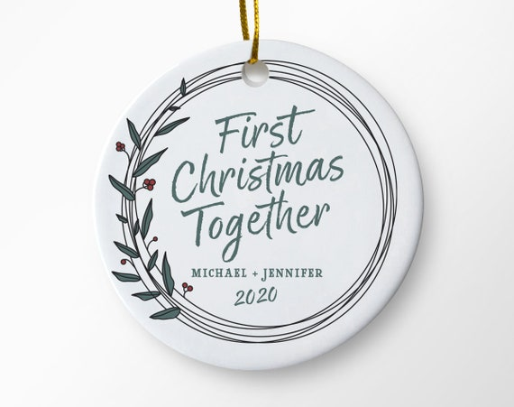 First Christmas Together 2020 Ornament First Christmas | Etsy