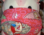 Ren and Stimpy 90s Nickelodeon Washable Filter Pocket Multi Layers Fabric Mask