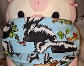 Skunk Family Forever Wildlife Washable Filter Pocket Multi Layers Fabric Mask