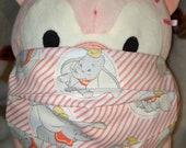 Dumbo Washable Filter Pocket Multi Layers Fabric Mask