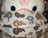 Ball Python Morphs Washable Filter Pocket Multi Layers Fabric Mask