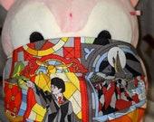 Staind Glass Harry Potter Crests Hogwarts Houses Washable Filter Pocket Multi Layers Fabric Mask