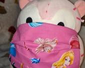 Princess Aurora Sleeping Beauty Washable Filter Pocket Multi Layers Fabric Mask