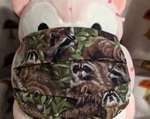 Raccoons forever Washable Filter Pocket Multi Layers Fabric Mask