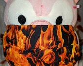 Into the Fire Flames Washable Filter Pocket Multi Layers Fabric Mask