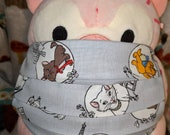 Aristocats in Paris Duchess Thomas Marie Toulouse Berlioz Washable Filter Pocket Multi Layers Fabric Mask