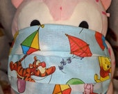 Fly a kite with Winnie the Pooh & Tigger Washable Filter Pocket Multi Layers Fabric Mask
