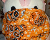 University of Tennessee Volunteers Sugar Skull Go Vols Washable Filter Pocket Multi Layers Fabric Mask