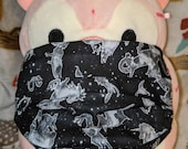 Dark Celestial Constellations Washable Filter Pocket Multi Layers Fabric Mask