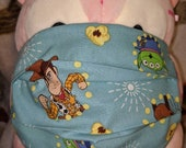 Toy Story Woody Slinky Aliens Bullseye Washable Filter Pocket Multi Layers Fabric Mask
