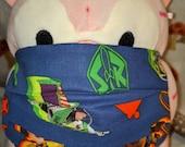 Toy Story Buzzlightyear Woody Bullseye Washable Filter Pocket Multi Layers Fabric Mask
