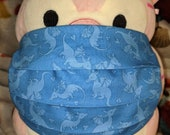 Blue Dragons Washable Filter Pocket Multi Layers Fabric Mask