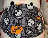 Jack Nightmare before Christmas Washable Filter Pocket Multi Layers Fabric Mask