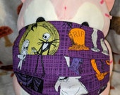 Nightmare before Christmas with Oogie Boogie Washable Filter Pocket Multi Layers Fabric Mask