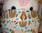Sloth Born to be Mild Washable Filter Pocket Multi Layers Fabric Mask