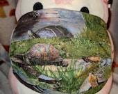 Turtles Forever Wildlife Washable Filter Pocket Multi Layers Fabric Mask