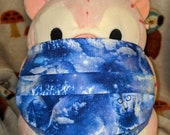 Mystical Cats and Kittens in Clouds Washable Filter Pocket Multi Layers Fabric Mask
