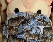 Wolf Pack Washable Filter Pocket Multi Layers Fabric Mask