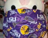 Louisiana State University LSU Tigers Washable Filter Pocket Multi Layers Fabric Mask
