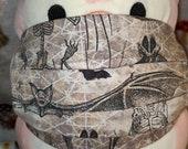 Bat anatomy Washable Filter Pocket Multi Layers Fabric Mask
