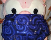 Blue Spiral Galaxy Washable Filter Pocket Multi Layers Fabric Mask