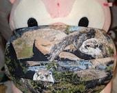 Otters Forever Wildlife Washable Filter Pocket Multi Layers Fabric Mask